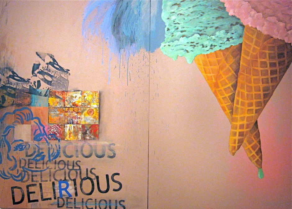 "Philip Hazard  ""Delicious Delirious"""